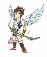 Kid Icarus - Pit by Tolina