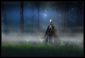 Walking dead Warior by trygothic