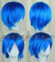 Kaito Wig from Project Diva by Cosplayfu