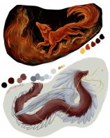 SP  Firefox and Quetzalcoatl by Syphellium