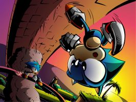 Sonic Generations: GHZ CWIP by SkipperWing
