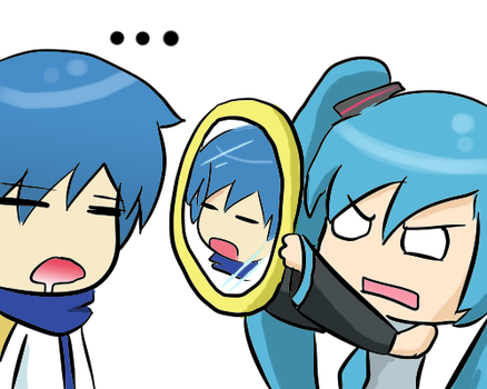Vocaloid: OMG UR UGLY by BladeXD