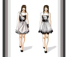 dresses - grey by Tania-S