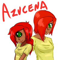 Azucena Iksekiliton by ah-puch-zegno
