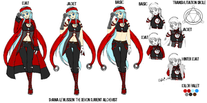 Shana Le'Mussen REMAKE by padfootlet
