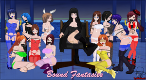 Bound Fantasies Models by RedFalcon23