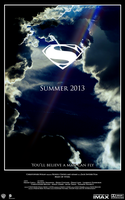 Man of Steel - Fan Movie Poster by LordReserei
