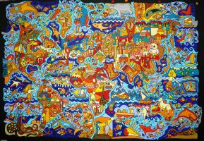 MAP OF THE WORLD 2012 by Evilpainter
