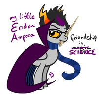 My Little Eridan Ampora by PenChaft