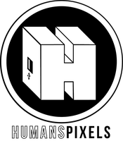 Humans Pixels logo by Silphes