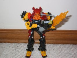 Tiribomba: Toa of Fire 4.1 'better pic' by skull123246