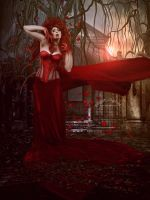 Dramatic Red by SPRSPRsDigitalArt