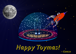 Holiday card by ToySoldierGonzo