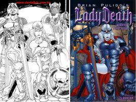 LadyDeath-Barbarian Queen by danielhdr