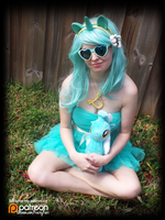 (MLP) Lyra Heartstrings (Cosplay) by KrazyKari
