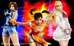 Tekken Schoolgirls by LegendaryDragon90