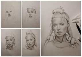YOLANDI VISSER 5 steps by AshiMonster