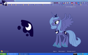 Luna Chrome Theme by pizzalover53