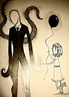 Don't go, Slender man... by jables97