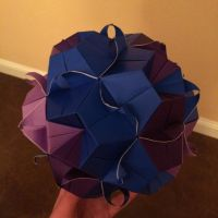 Modular Floral Origami by Origami1105