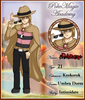App for PokeMagic Academy - Darcy the Krokorok by Memiz