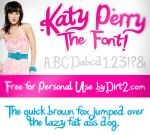 Katy Perry Font - Katy Berry by KeepWaiting