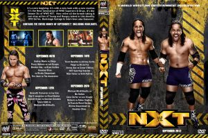 WWE NXT September 2012 DVD Cover by Chirantha
