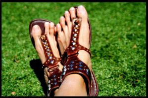 ...Ma Gladiator sandals... by preethah