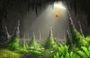 Cavernous Forest by Lynryn