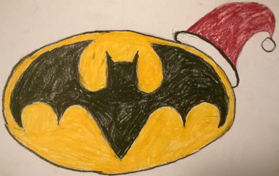 Merry Christmas from Batman by Divarose