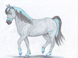 Myst in horse form by Lucy101