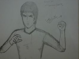 Bruce lee in GOD by ryuzo13