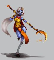Soraka - The Starchild by zhulikova