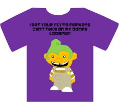 Oompa Loompa T-shirt design by Austinbot101