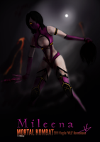 Mileena by SonicSNAKE