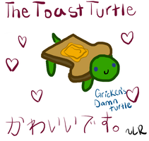 Fucking toast turtle by ArcticSandwich
