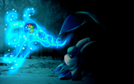 Glaceon Deasktop Background by Freeze-pop88