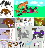 Another Adoptables Sale by Sapphira-Page