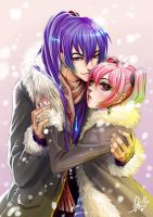 I'll keep you warm Luka.. by Ebiko-chan