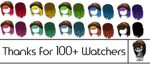 100+ Watchers Mixed Hair Special by strawocolate