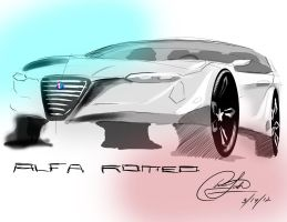 my alfa romeo by chrislah294