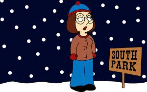 Meg Griffin Goes To South Park by AliKatFin