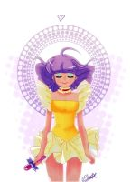 Creamy Mami's soul by VPdessin