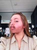 Facial Hair Stage Makeup by Coffeedrinkingsquirr
