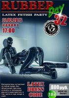 RubberDay 32 fetish party by latex-rat