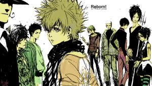 Reborn!: the Vongola Family by mick347