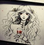The red-eyed witch by natalico