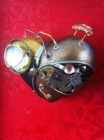 Heart project -Steampunk heart detail 1 by pacogarabo