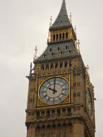 Big ben in colour by AmyKPhotos