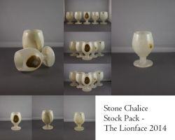 Stone Chalice Stock Pack by The-Lionface